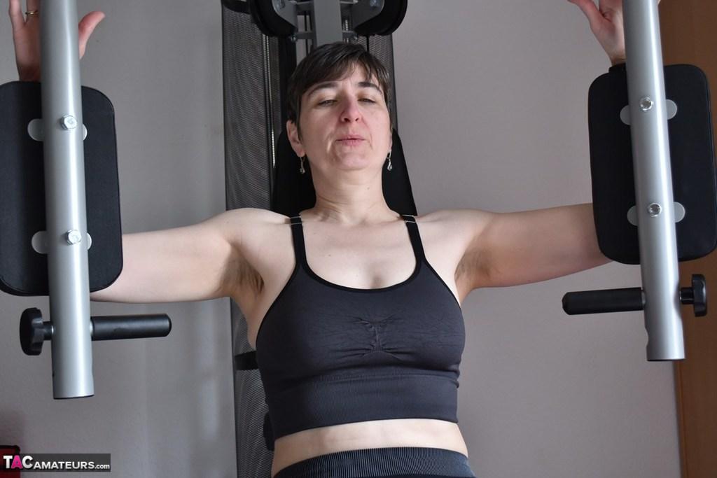German Homemade Gym